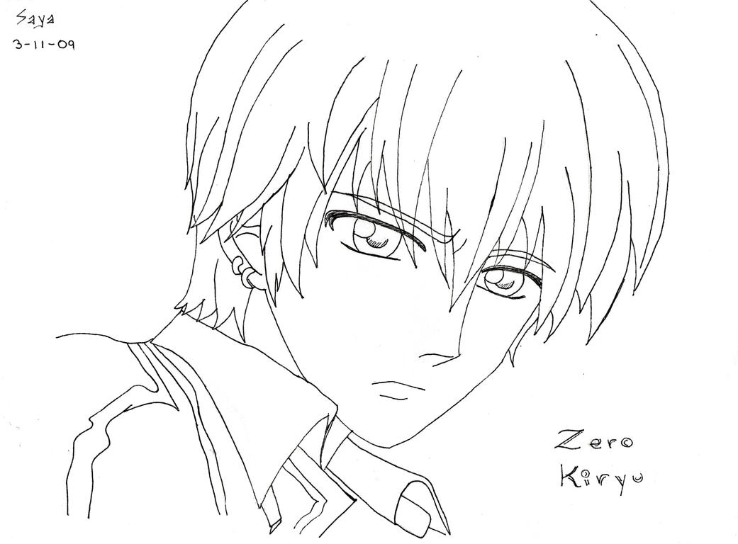 vampire knight zero coloring pages - photo#18