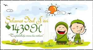 Happy Iedul Fitri 1430 H