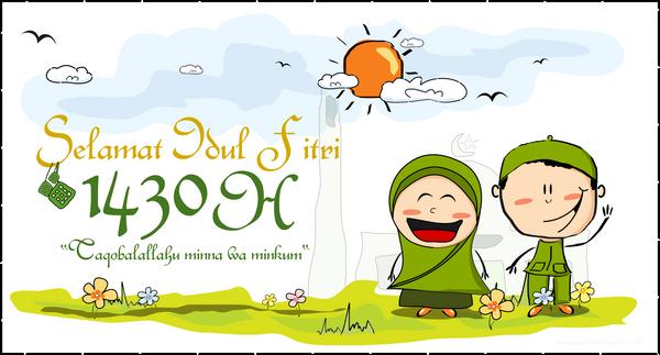 Happy Iedul Fitri 1430 H by dzinc