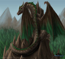 Earth Dragon by ShadowDragon22