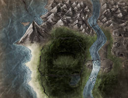 KoT:  Prehistoria Map