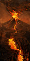Speedpaint: The Volcano