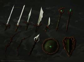 Elven Weapons Batch