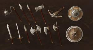 Dwarven Weapons Commission Batch by ShadowDragon22