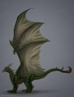 Adamina Dragon Commission by ShadowDragon22