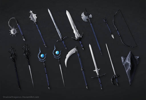 Weapons of Eustace Commission Batch