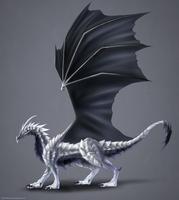 Eclipse Dragon Commission by ShadowDragon22