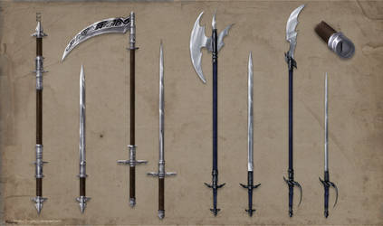 Alchemist Weapons Set Commission part 1