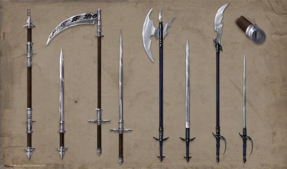 Alchemist Weapons Set Commission part 1