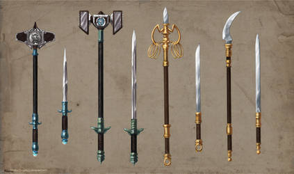 Alchemist Weapons Set Commission part 2