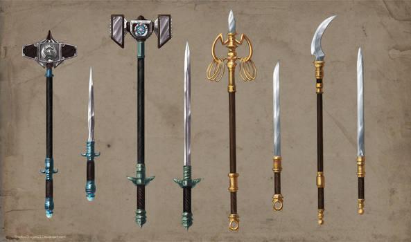 Alchemist Weapons Set Commission part 2