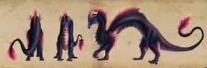 Ran Dragon Commission by ShadowDragon22