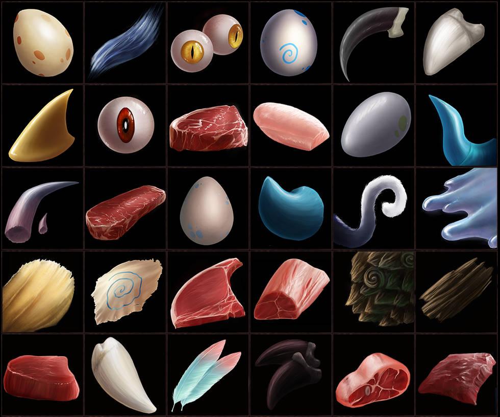 Luminare Saga Alchemy Icons by ShadowDragon22