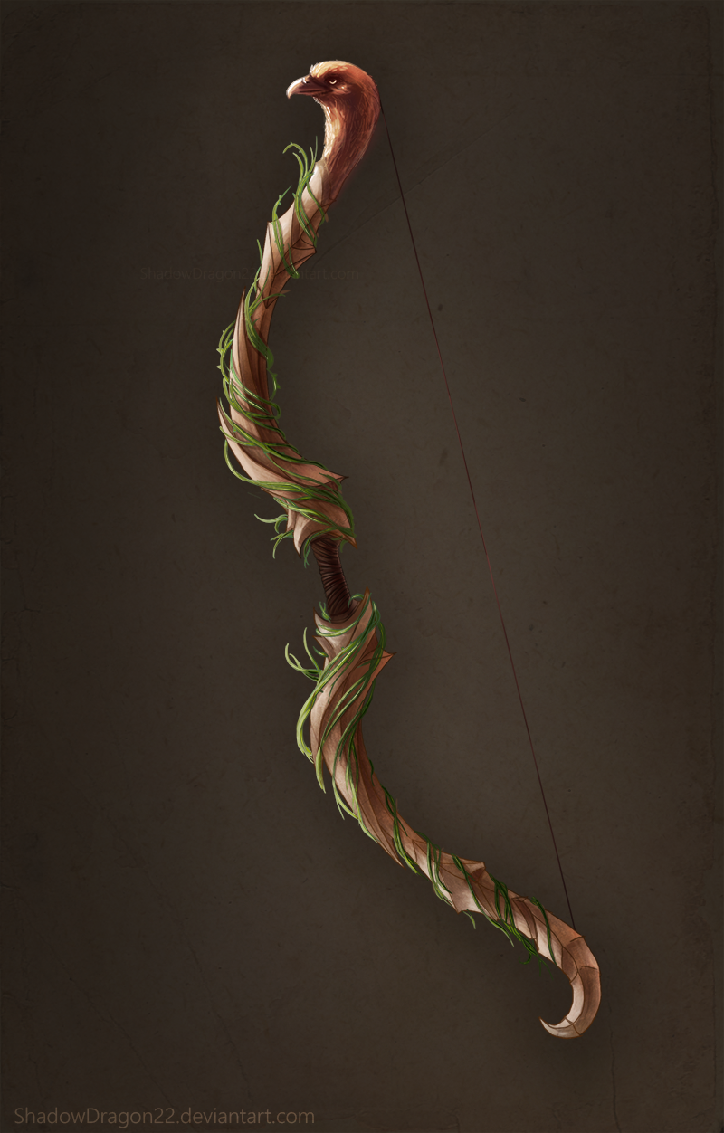Bow of Vines Commission