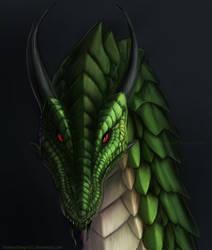 Thorn Dragon Portrait Commission