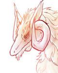 Fluffy Dragon Doodle