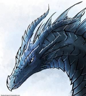 Zenithar Dragon portrait doodle thing