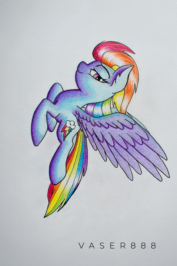 Rainbow Dash by vaser888