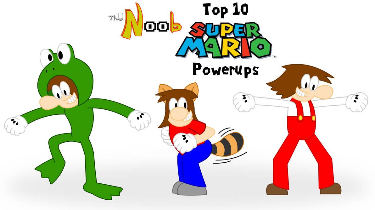 Top 10 Super Mario Powerups by funkylad on DeviantArt