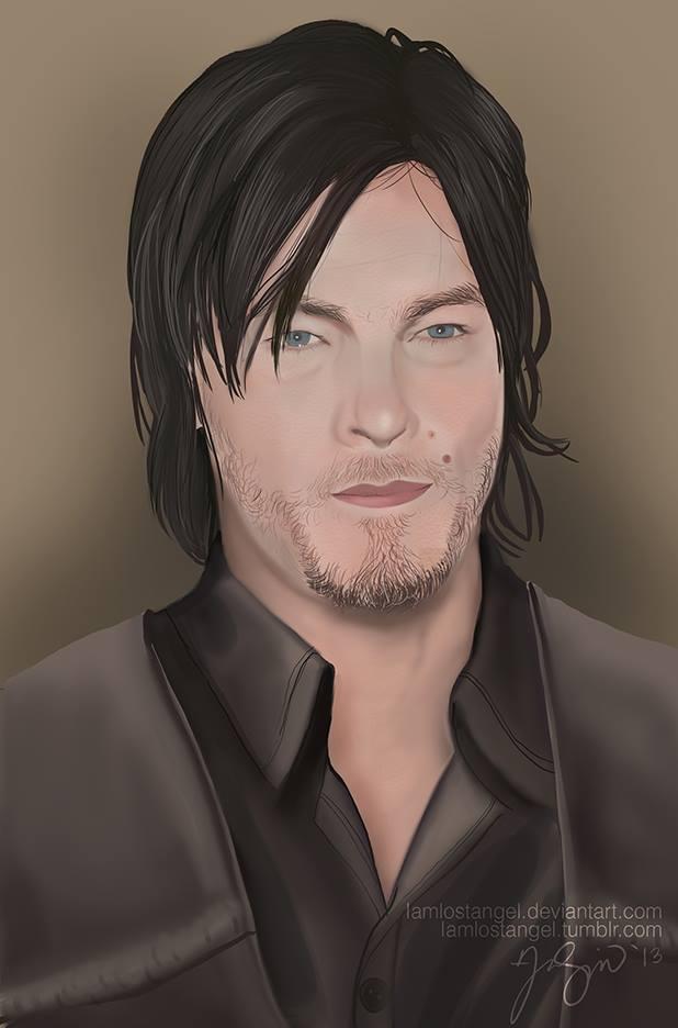 Daryl Dixon by IamLostAngel