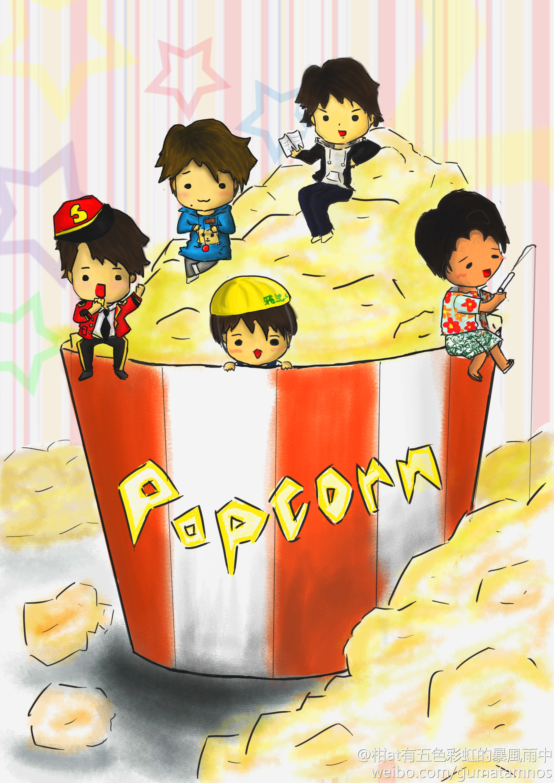 ARASHI--Popcorn by gummygumi on DeviantArt