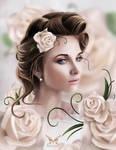 Girl soft roses
