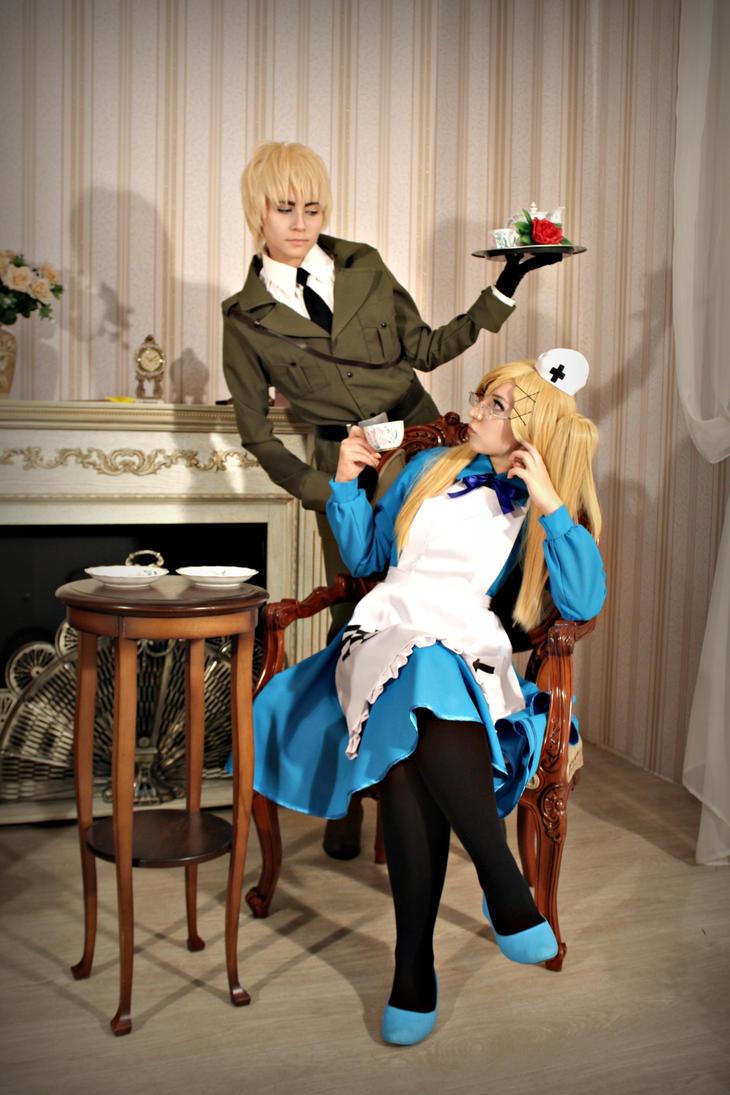 English tea party by W-miSANAgi