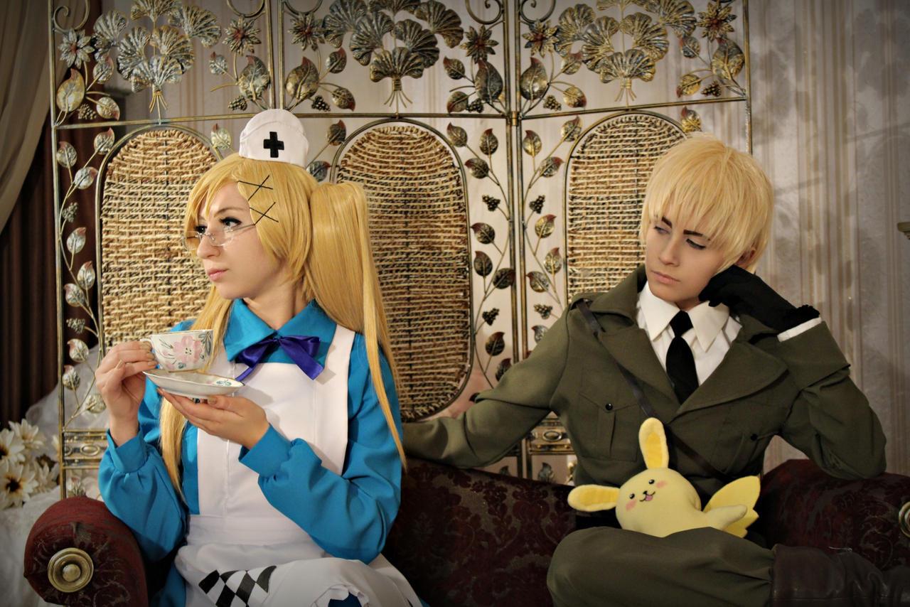 English tea party 2 by W-miSANAgi