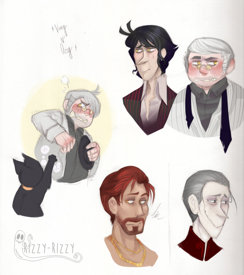 Witching Hour Boys - Personified by Rizzy-Rizzy