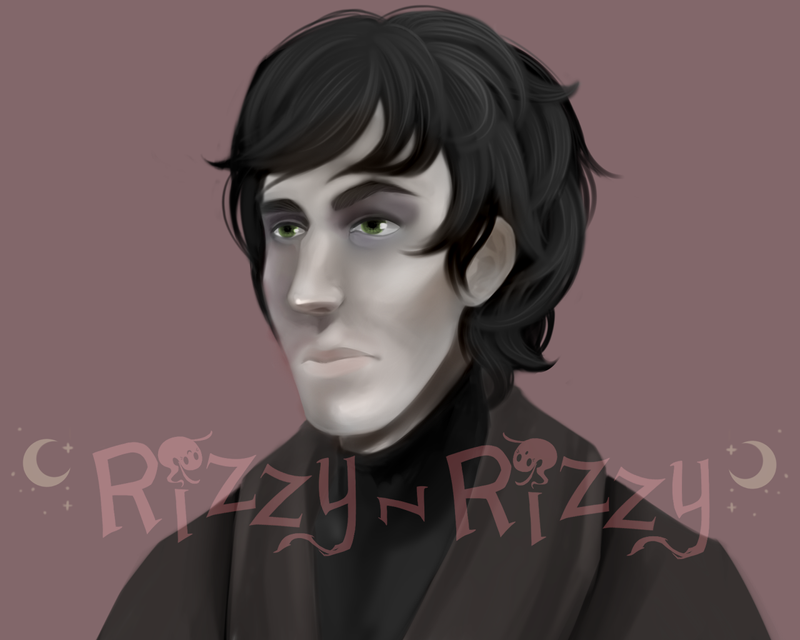 Portrait Attempt May-4-2017 by Rizzy-Rizzy