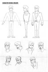 Character Design: Greaser