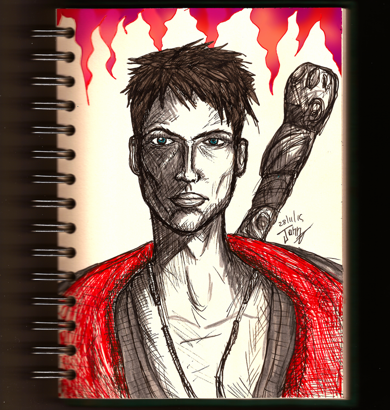 Daily sketch no.63 -Dante- by IoannisCleary