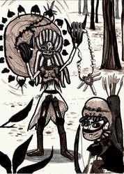 Saturday Doodle - Apocalypse Siblings