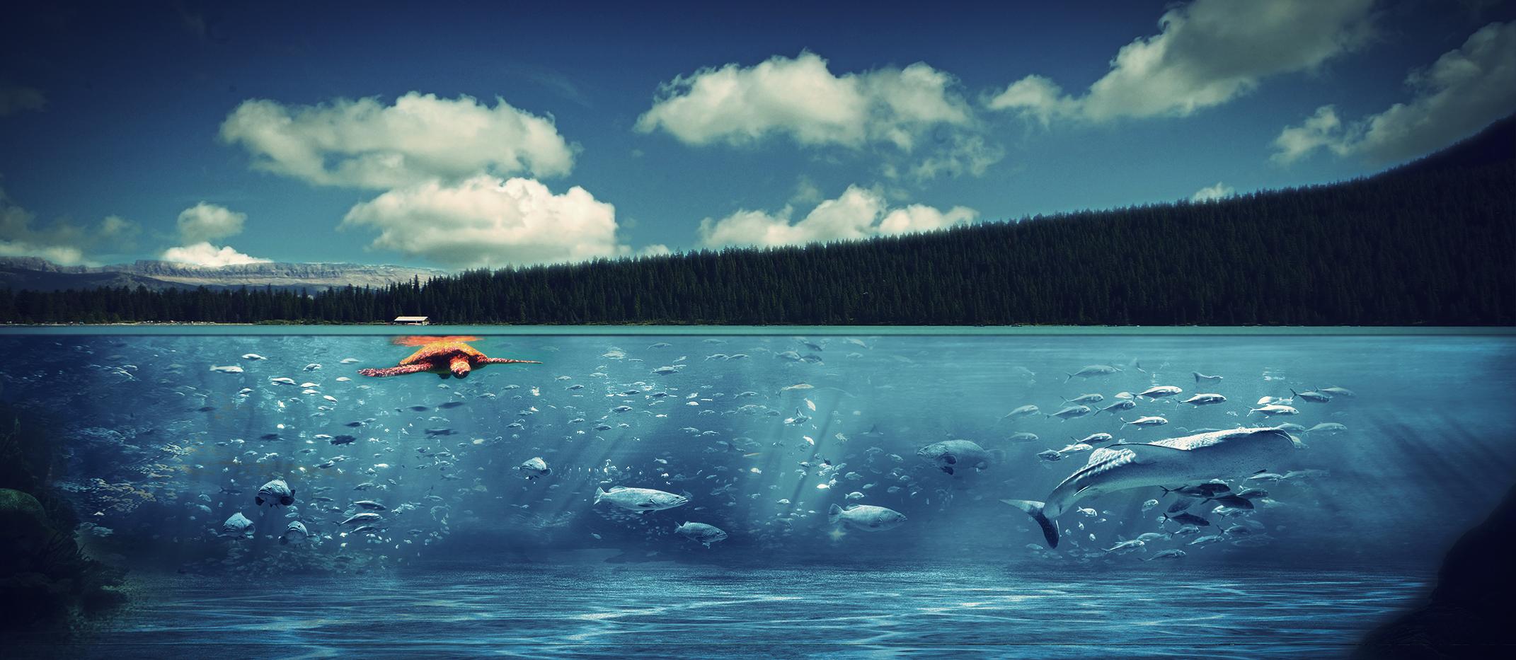 Underwater manipulation by HelloYou8D on DeviantArt