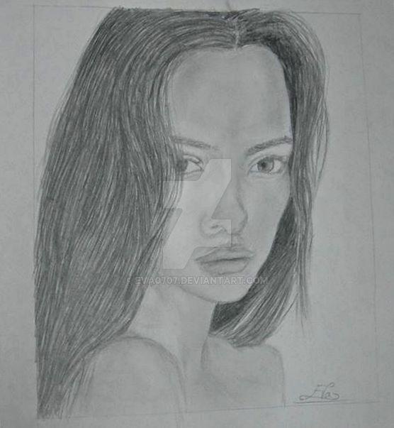 Portrait Of A Woman by Eva0707