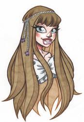 Stacy portrait by AngiePineda