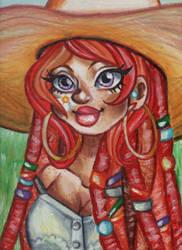 Sharry acrylics by AngiePineda