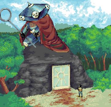 Guardian of Unwalked Paths by Geminimax