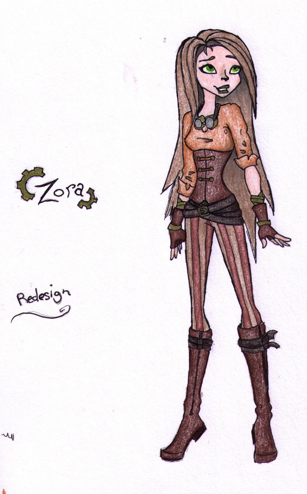 Zora redesign