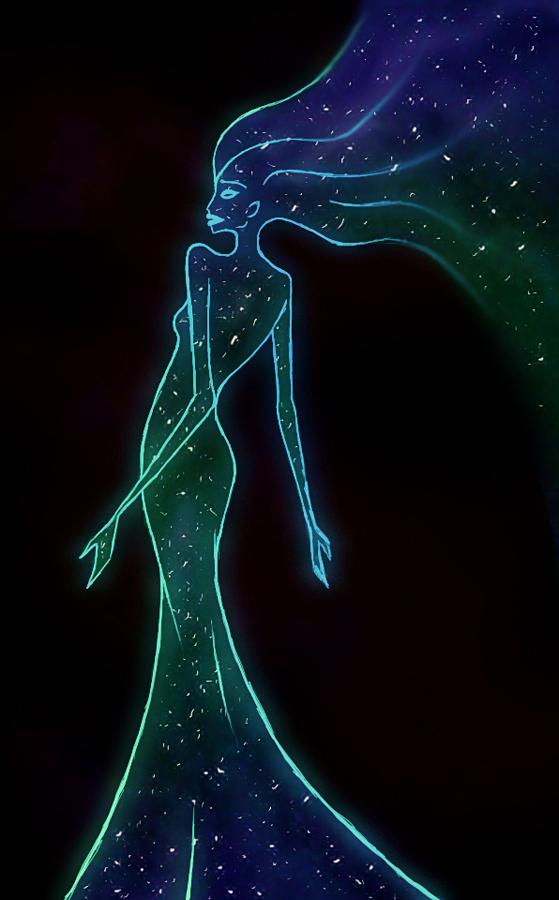 As beautiful as the night sky by ZoraSteam