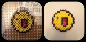 My First Perler Bead Pixel Art