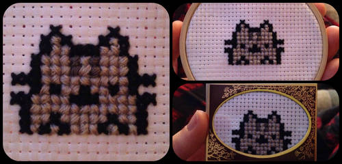 Pusheen Cross stitch