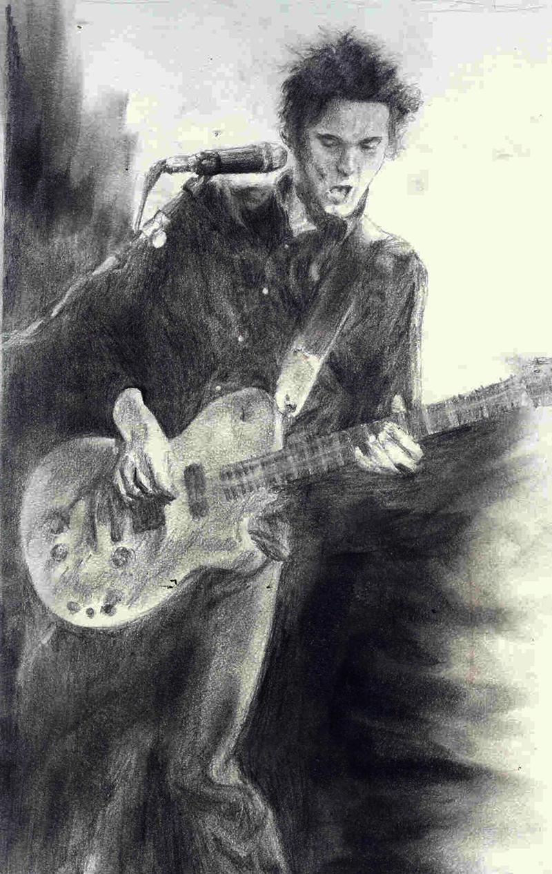 Matt The Guitarist by pugsly