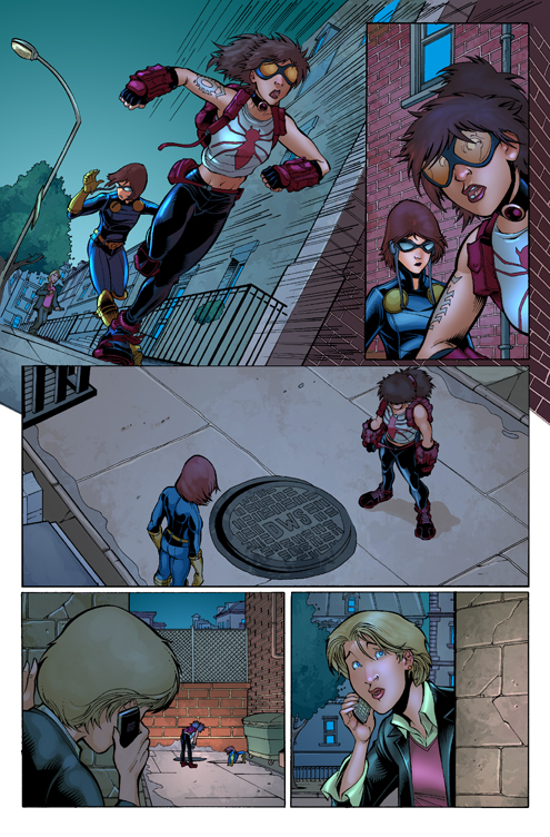 Cap America Nomad Page 3 by NickSchley