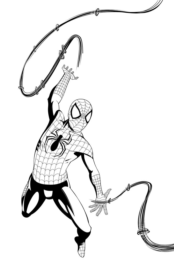 Spiderman by NickSchley