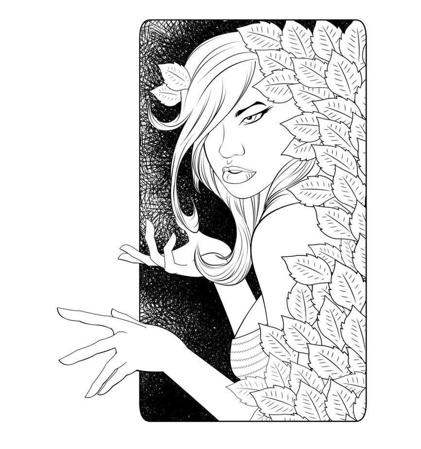 Poison ivy by NickSchley