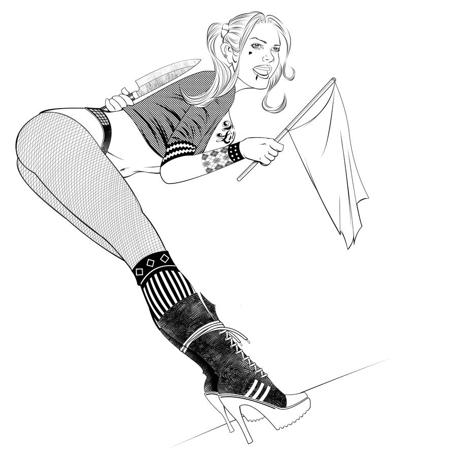 Harley Quinn by NickSchley
