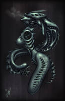 Giger Tribute by cruzarte