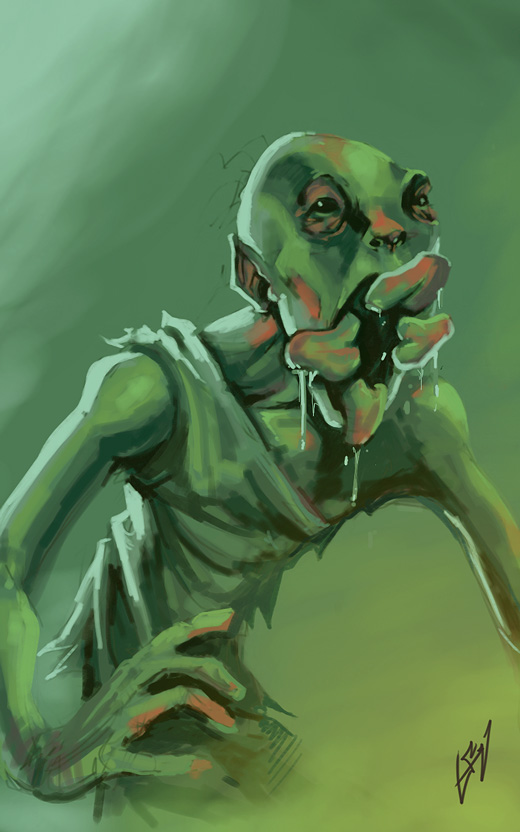 The Strain Ghoul by cruzarte