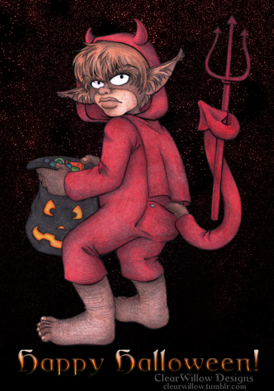 Little Devil by ClearWillow